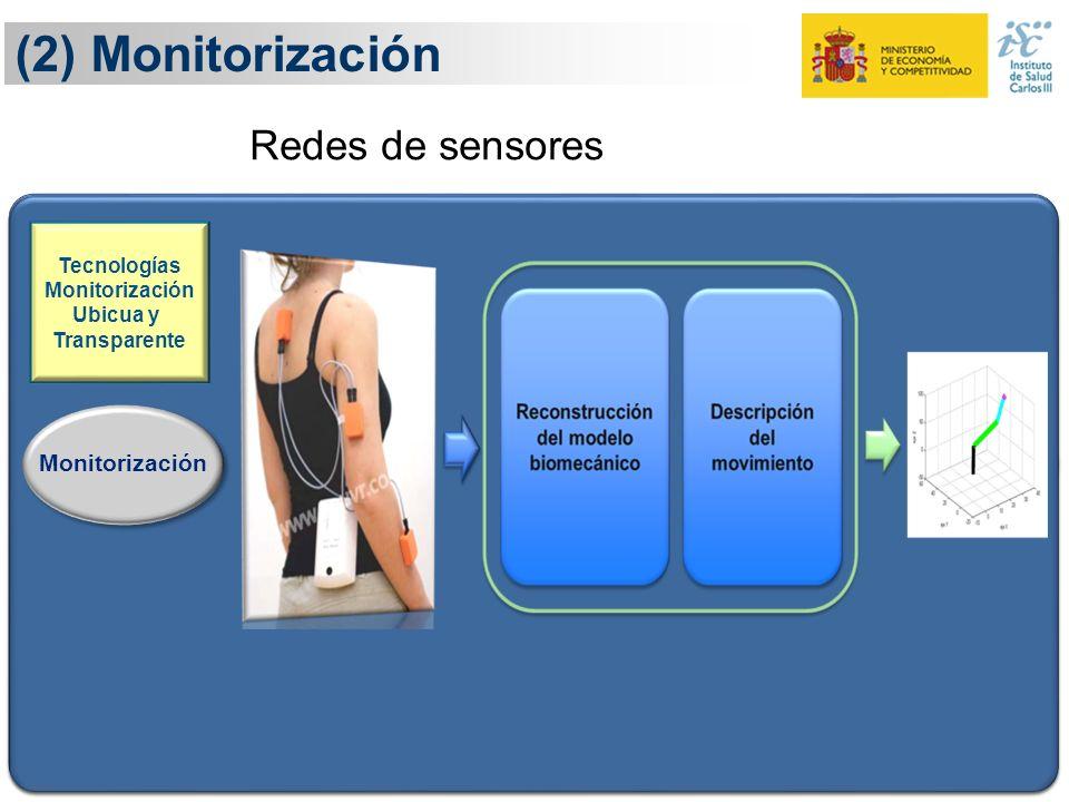 (2) Monitorización 16 Definición Monitorización Ejecución Evaluación Adaptación Tecnologías Monitorización Ubicua y Transparente Conocimiento y eviden
