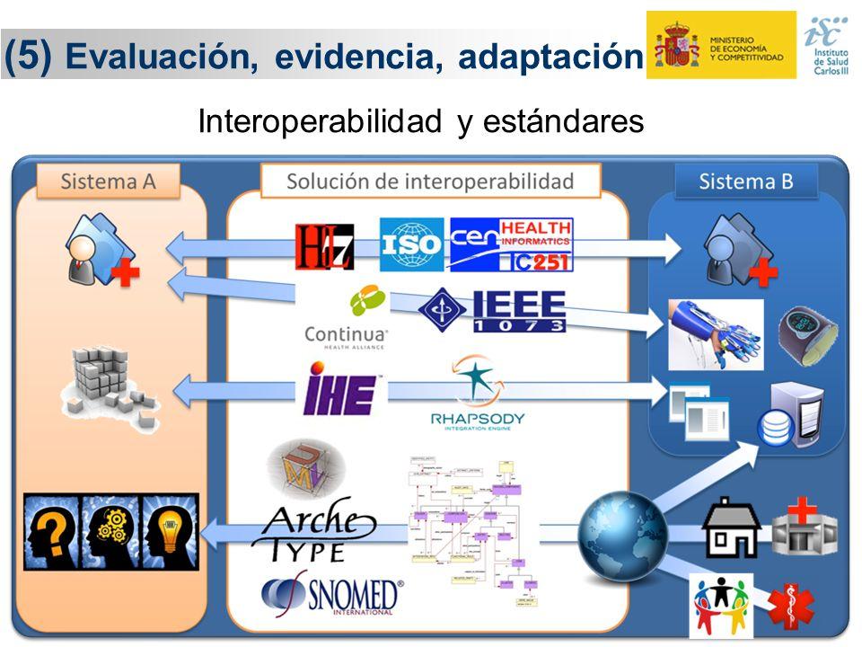 29 (5) Evaluación, evidencia, adaptación Evaluación Adaptación Sistemas Inteligentes de Análisis de Datos Conocimiento y evidencia Conocimiento y evid