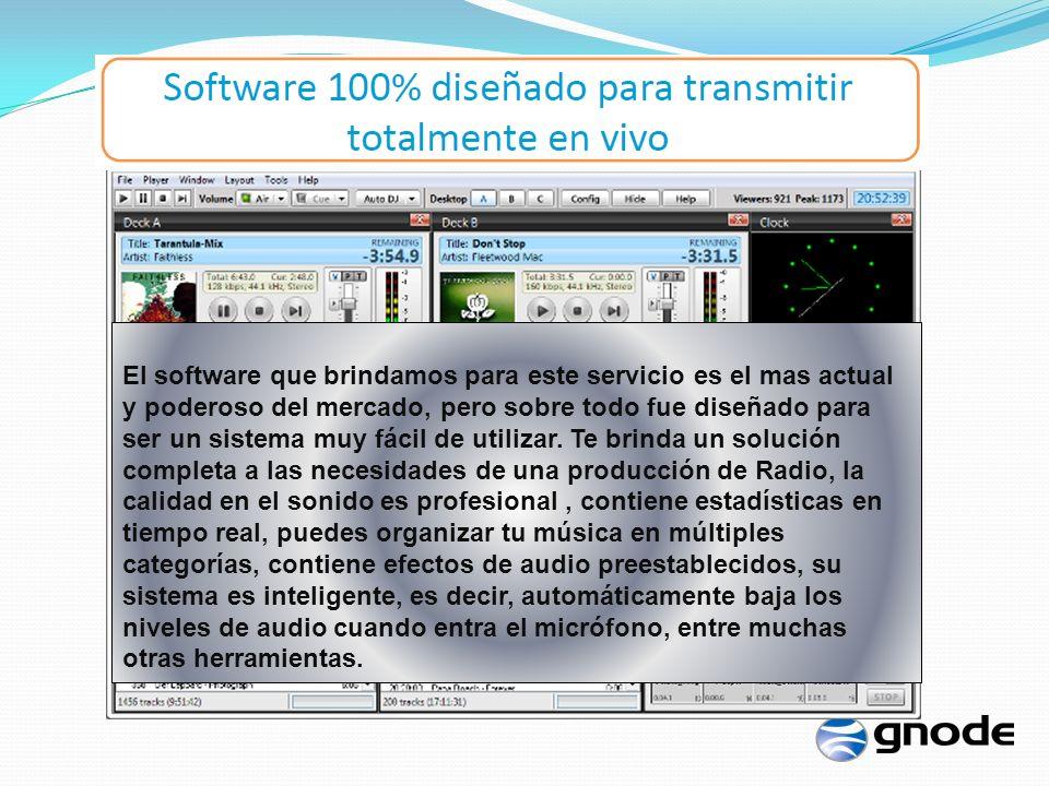 El software que brindamos para este servicio es el mas actual y poderoso del mercado, pero sobre todo fue diseñado para ser un sistema muy fácil de utilizar.