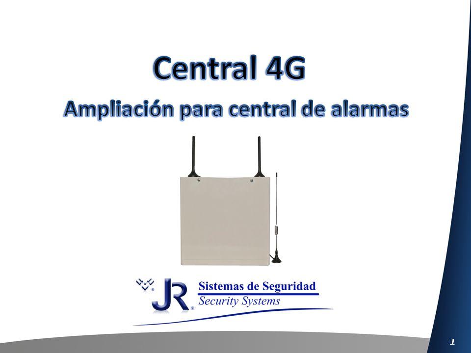 2 La central 4G puede trabajar complementariamente como ampliación de cualquier otra Central de alarmas del mercado, mediante el uso de este modo podremos obtener las siguientes funciones: Transmitir por GPRS de eventos de la central asociada.