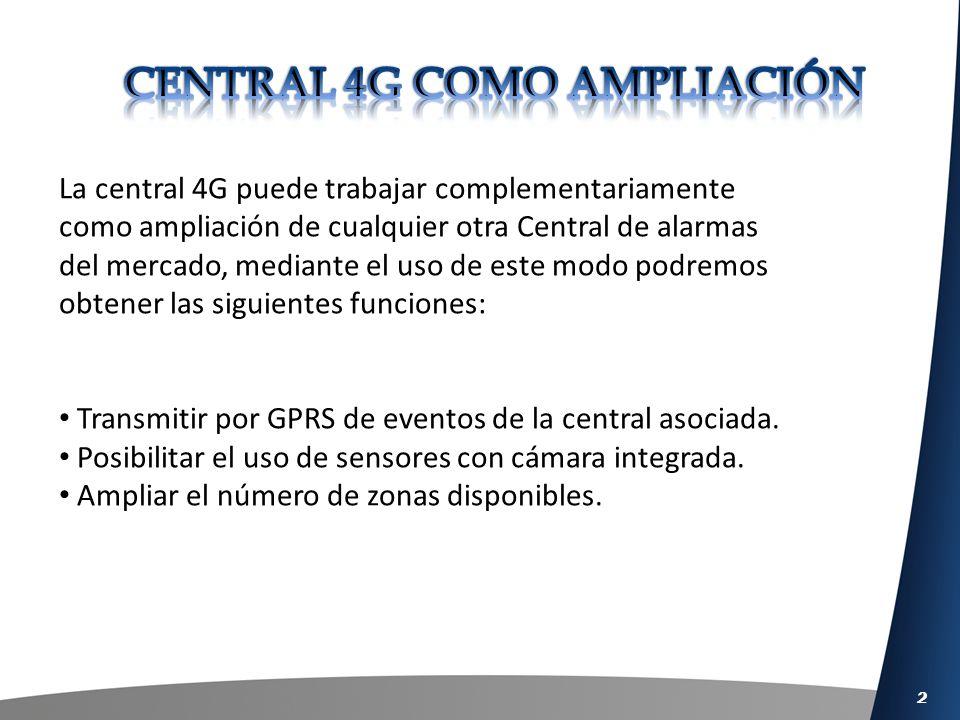 3 Modo Captura LINEPHONE GPRS Línea telefónica CONEXION CONEXION
