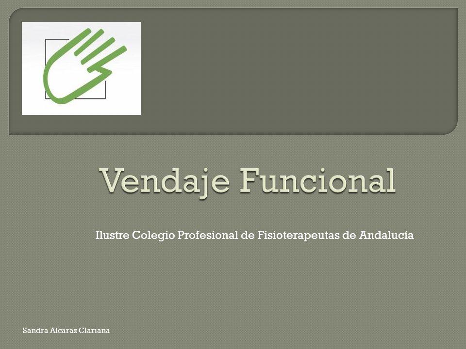 Ilustre Colegio Profesional de Fisioterapeutas de Andalucía Sandra Alcaraz Clariana