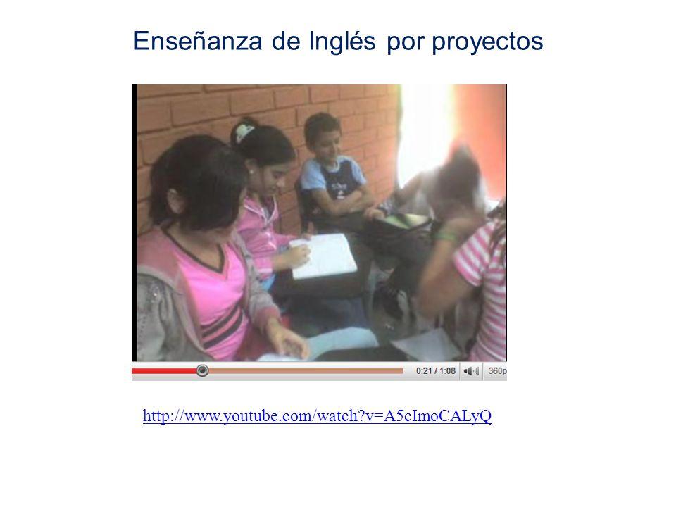 Enseñanza de Inglés por proyectos http://www.youtube.com/watch?v=A5cImoCALyQ