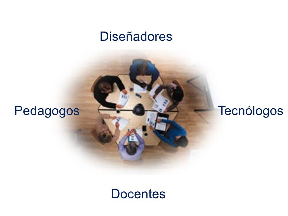 Docentes PedagogosTecnólogos Diseñadores