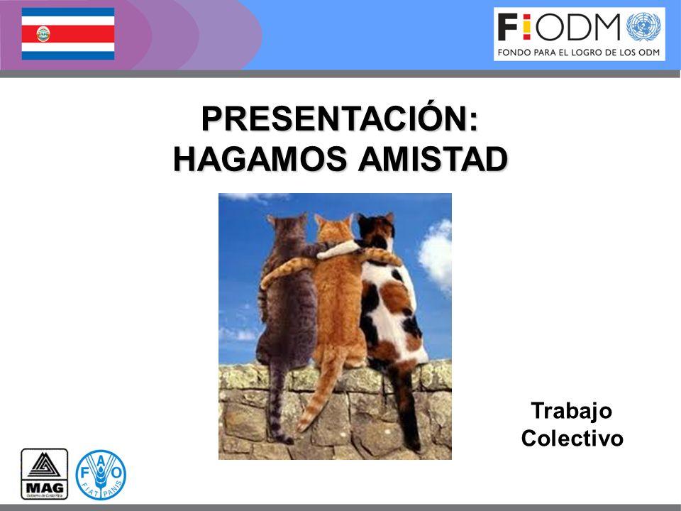 PRESENTACIÓN: HAGAMOS AMISTAD Trabajo Colectivo