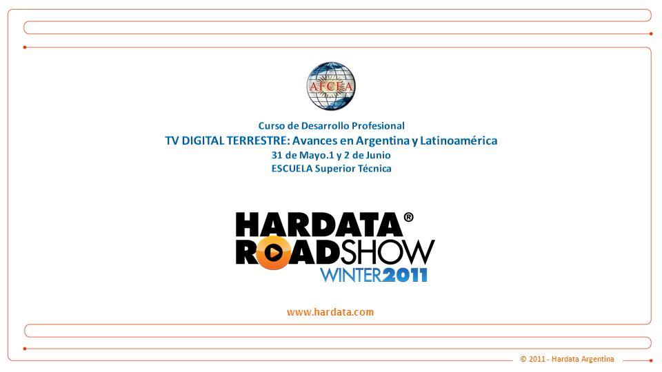 www.hardata.com Hardata.TV – HD Channel IN-A-BOX © 2011 - Hardata Argentina