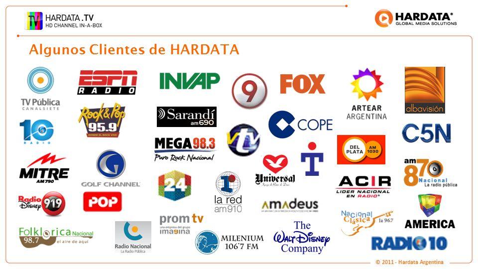 www.hardata.com Algunos Clientes de HARDATA © 2011 - Hardata Argentina