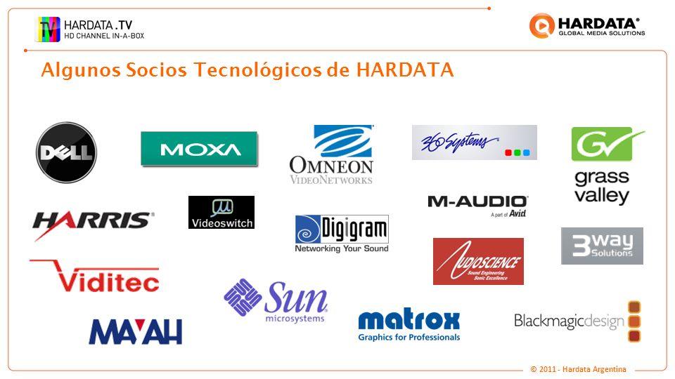 www.hardata.com Algunos Socios Tecnológicos de HARDATA © 2011 - Hardata Argentina