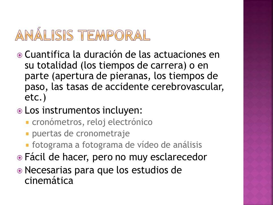 Fuerzas o momentos de fuerza (pares de torsión) El momento o velocidad o empuje (lineal y angular) Energía mecánica (cinética y potencial) Trabajo (de las fuerzas y pares de torsión) Potencia (de las fuerzas y pares de torsión)
