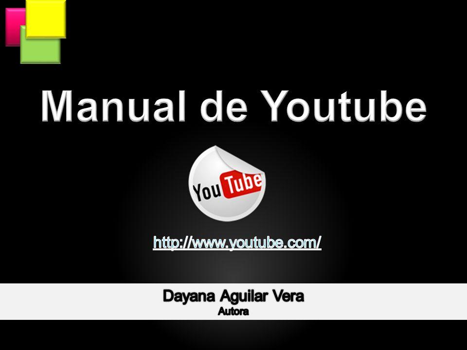 Esta es la interfaz principal del sitio YouTube, donde se muestran videos, en forma clasificada y que han subido, miembros de este.
