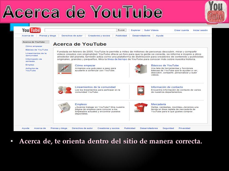 Podemos acceder a YouTube con una cuenta de Google y crear un canal de YouTube.