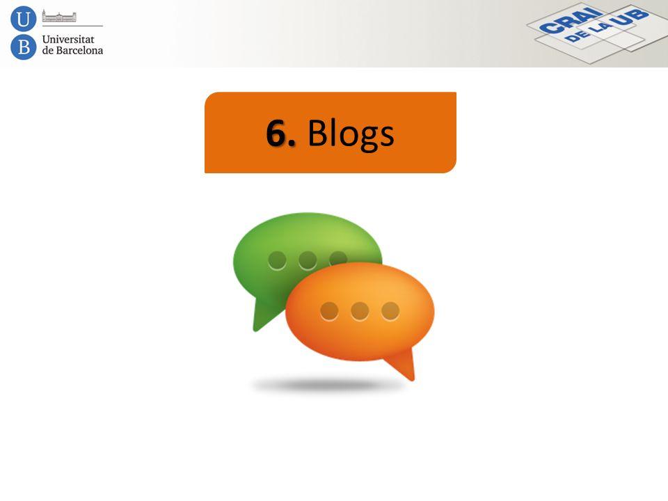 6. 6. Blogs
