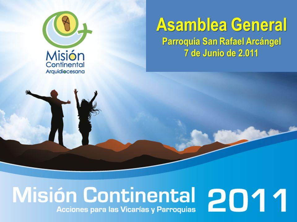 Asamblea General Parroquia San Rafael Arcángel 7 de Junio de 2.011