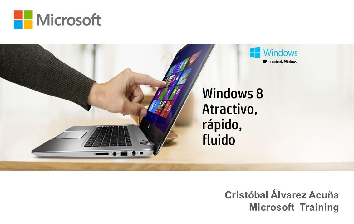 Cristóbal Álvarez Acuña Microsoft Training