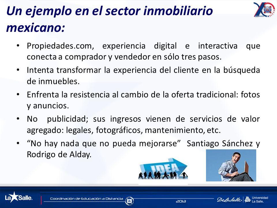 Un ejemplo en el sector inmobiliario mexicano: Propiedades.com, experiencia digital e interactiva que conecta a comprador y vendedor en sólo tres paso