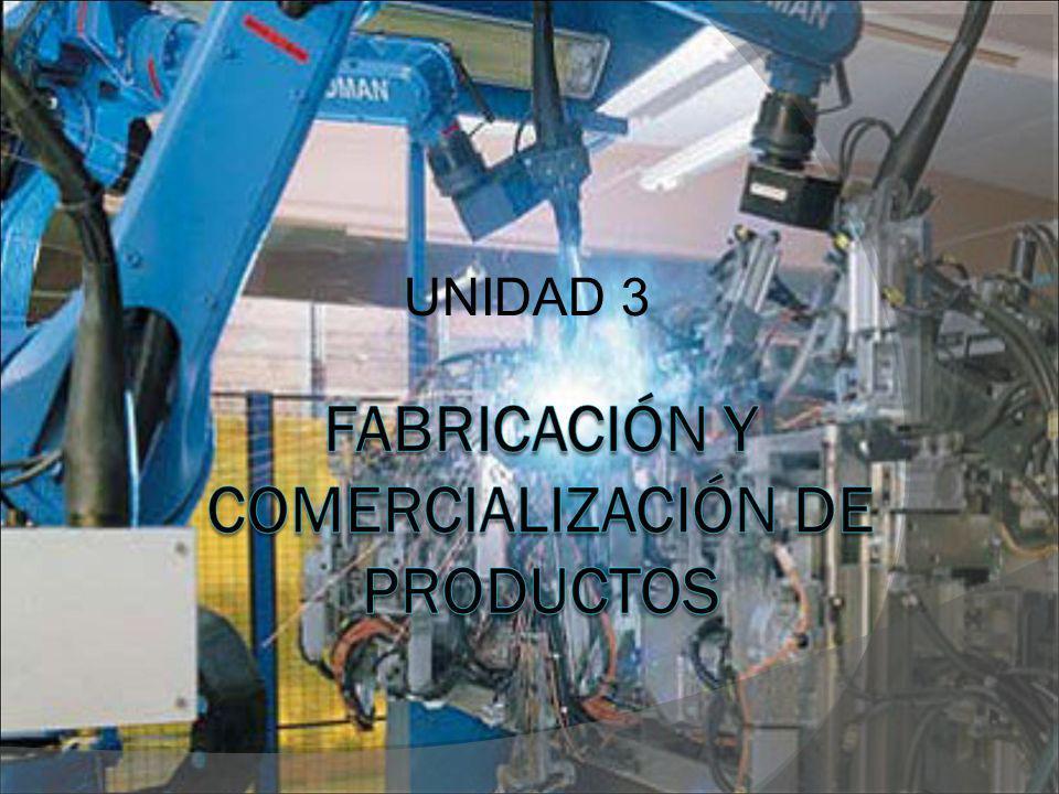 3.1.- INTRODUCCIÓN En esta unidad vamos a ver en detalle las dos fases que nos quedaban, que son: Fase 4: Fabricación de productos Fase 5: Comercialización y reciclado