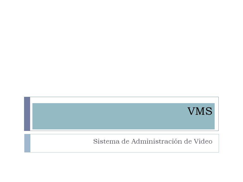 VMS Sistema de Administración de Video