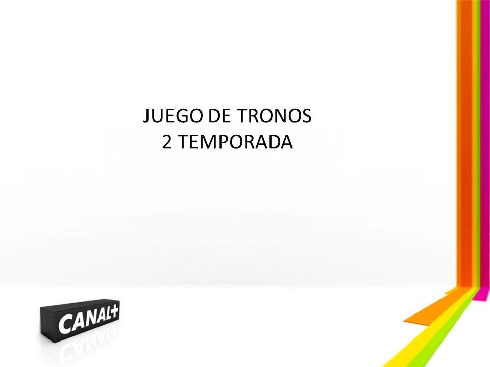 JUEGO DE TRONOS 2 TEMPORADA