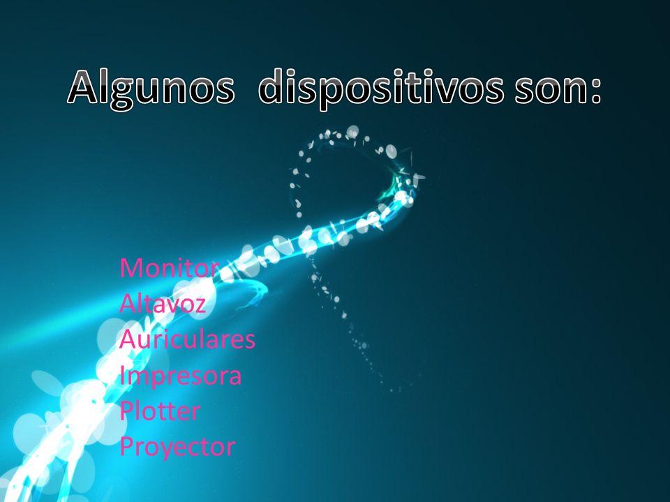 Monitor Altavoz Auriculares Impresora Plotter Proyector