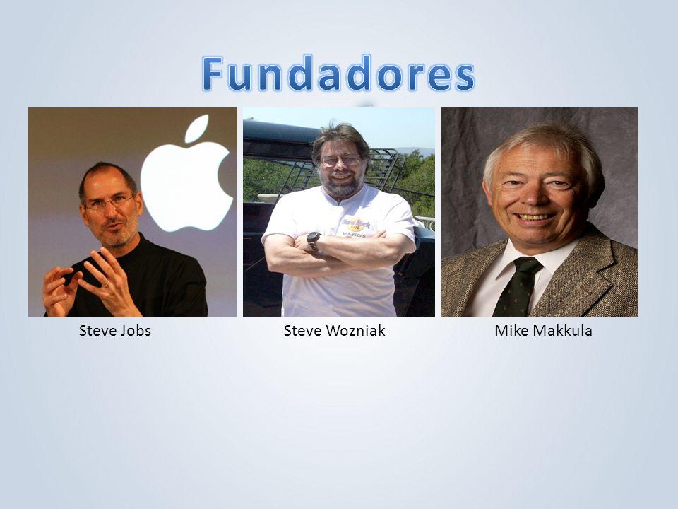 Steve JobsSteve WozniakMike Makkula