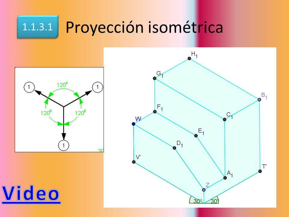 Proyección isométrica 1.1.3.1