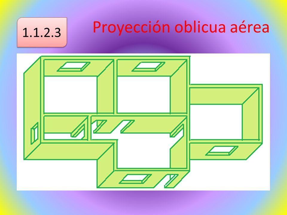 Proyección oblicua aérea 1.1.2.3