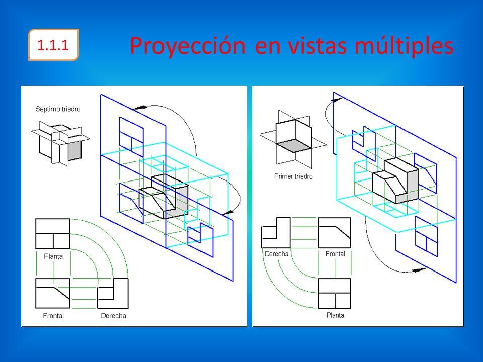 Proyección en vistas múltiples 1.1.1