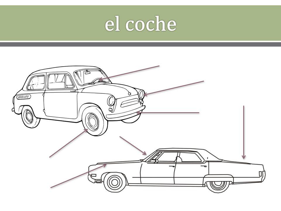 aparcar estacionar arrancar el motor apagar el motor encender (e – ie) las luces direccionales apagar abrir el baúl cerrar (e – ie) el baúl levantar el capó