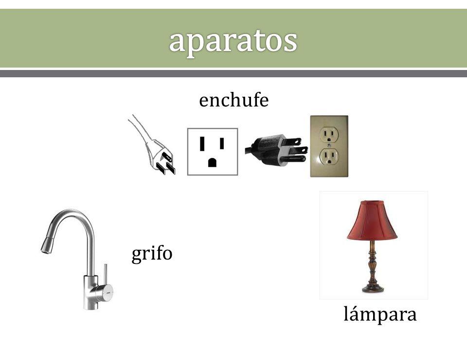 enchufe grifo lámpara