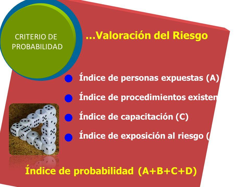 RIESGOS ProcesoActividadTarea Código del Peligro Peligro Detallado Riesgo de Seguridad Riesgo de Salud Ocupacional Cargo de persona que realiza la act