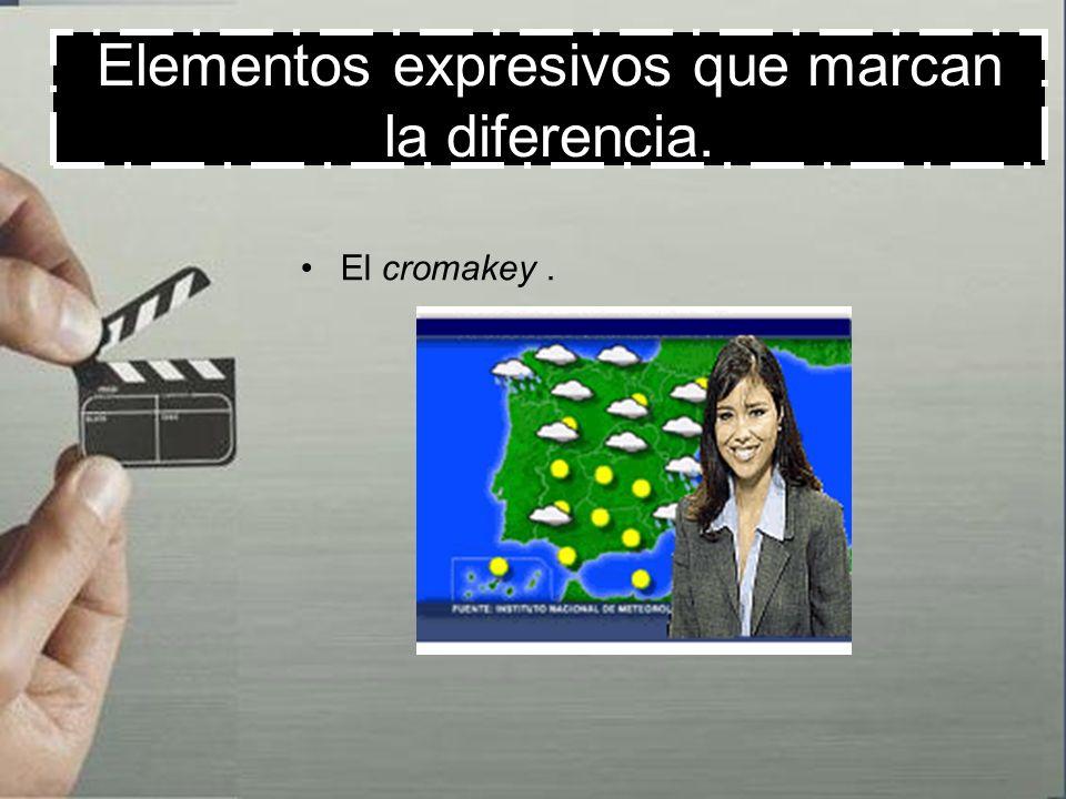 Elementos expresivos que marcan la diferencia. Descomposición de la imagen en píxeles.