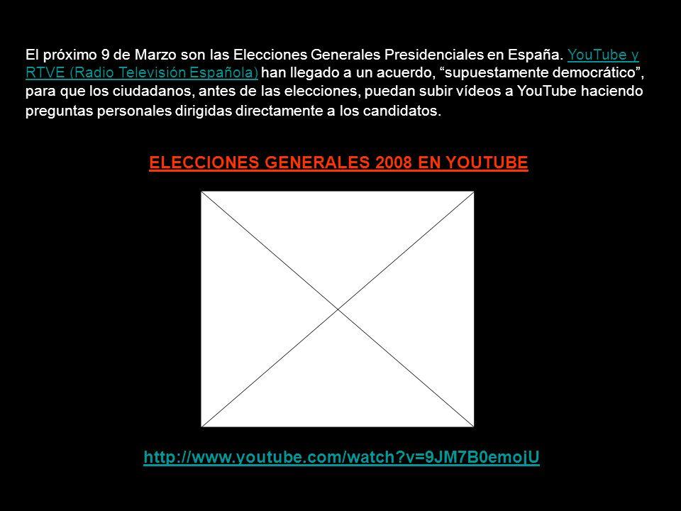 ELECCIONES GENERALES 2008 EL 11-S EN LAS ELECCIONES ESPAÑOLAS No es suficiente simplemente saber lo que está pasando.