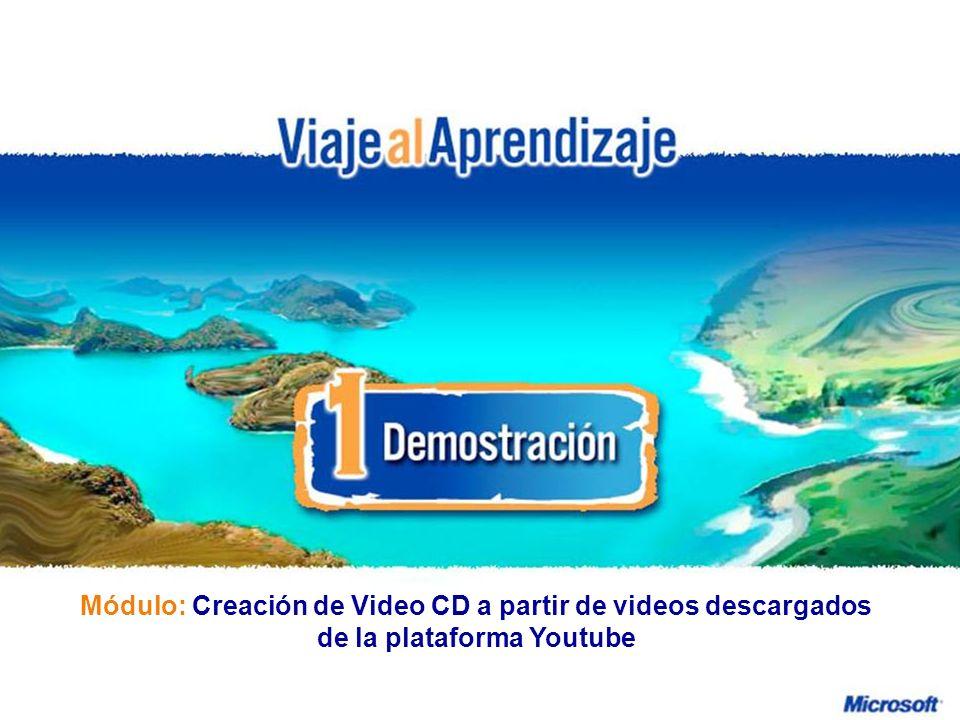 Diseño de Actividades Educativas con Hot Potatoes Creación de Video CD a partir de videos descargados de la plataforma Youtube R e d d e P r o f e s o r e s I n n o v a d o r e s ¿Qué haremos.
