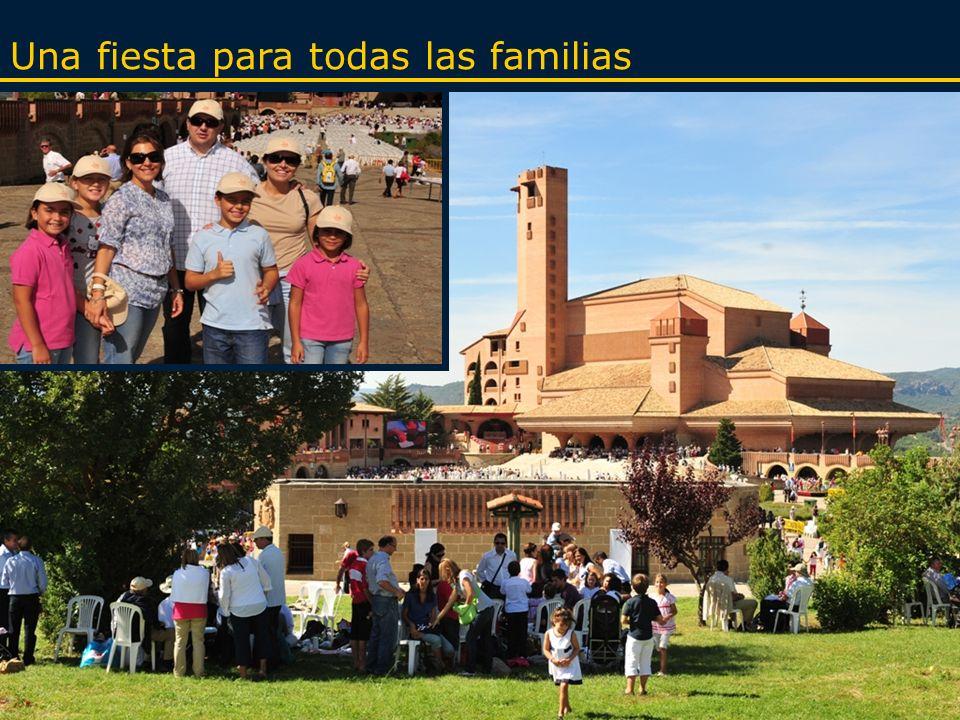 Familias, colegios, parroquias, asociaciones…