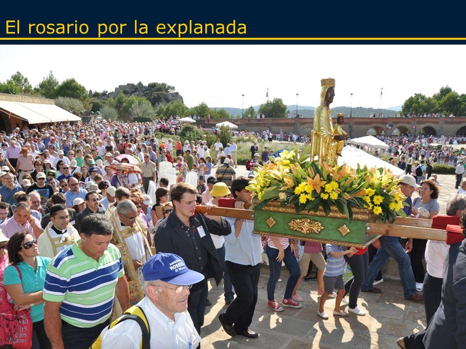 HORARIO 09.00 h.Apertura del recinto y de los confesonarios 12.00 h.