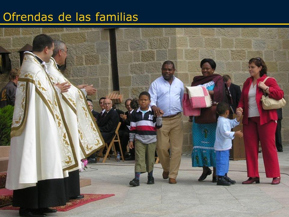 Ofrendas de las familias
