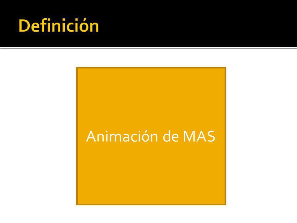 Animación de MAS