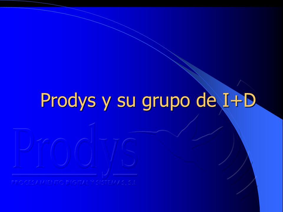 Prodys y su grupo de I+D