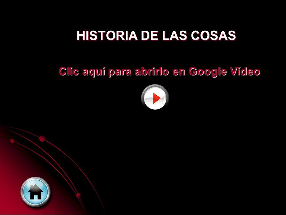 Preguntas sobre el vídeo Historia de las cosas 1.