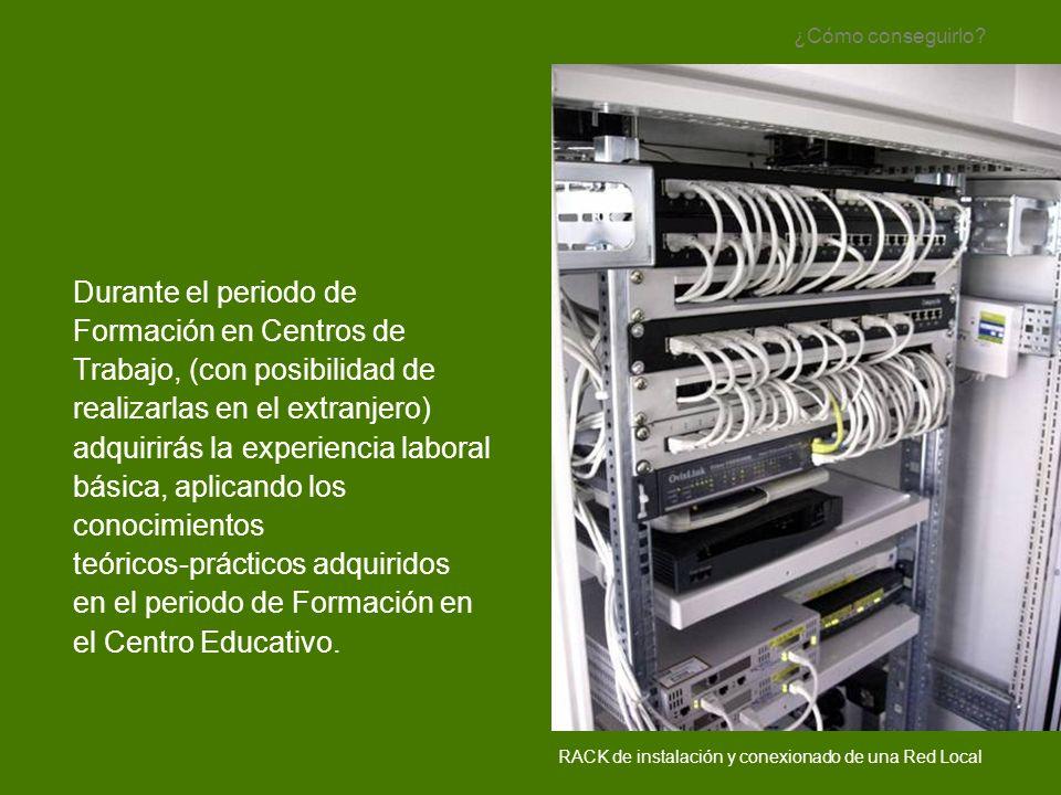 Técnico en montajes, puesta en servicio y mantenimiento de equipos de: Telefonía.