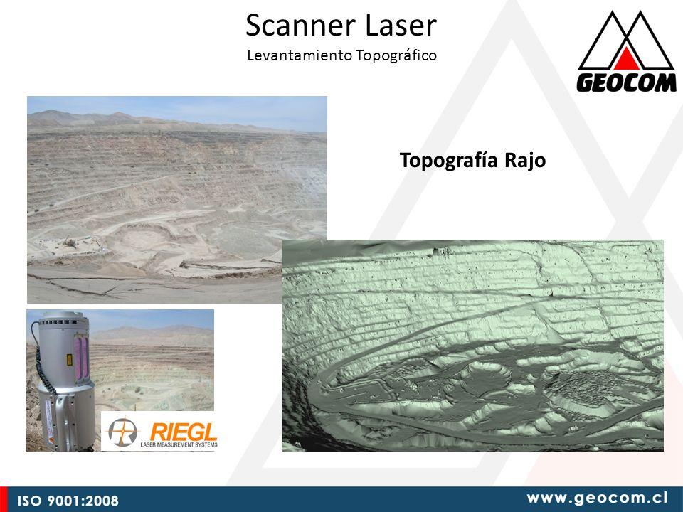 Scanner Laser Levantamiento Topográfico Topografía Rajo