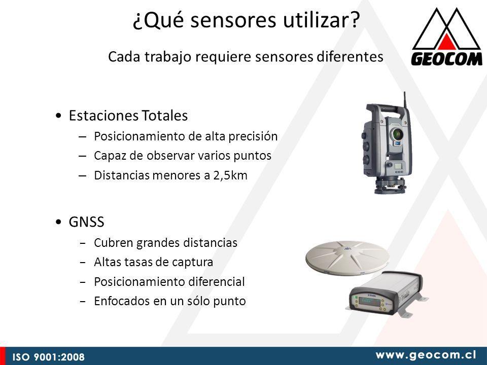 ¿Qué sensores utilizar.