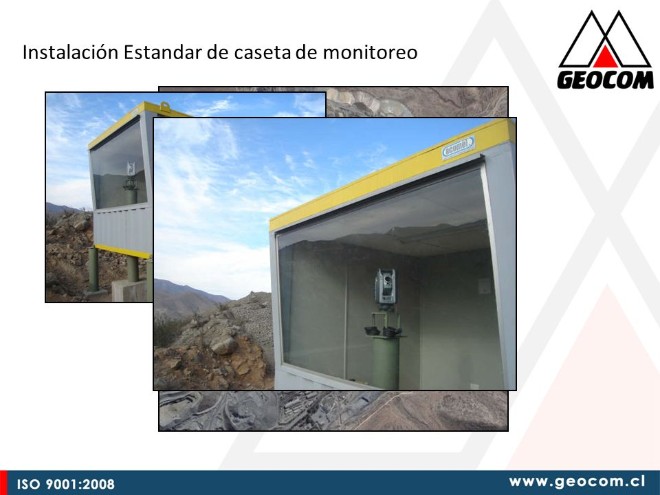 Instalación Estandar de caseta de monitoreo
