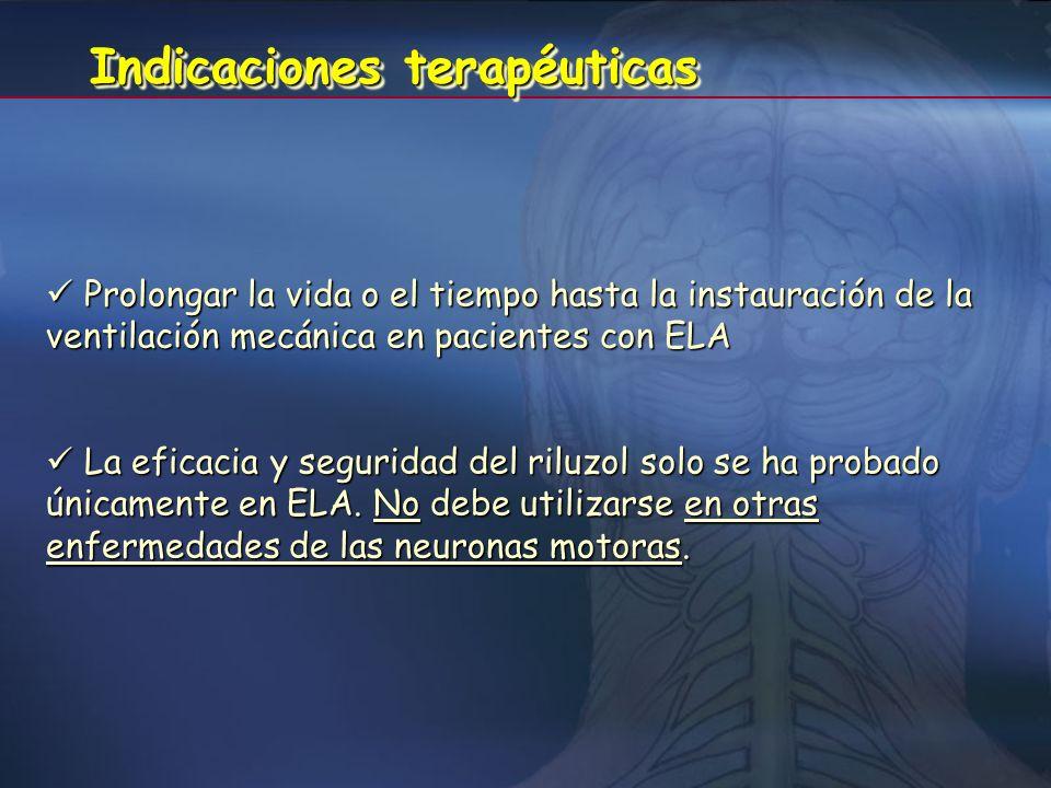 TratamientoTratamiento No existe tratamiento que consiga frenar el proceso patológico de la enfermedad. Se ha aprobado el uso del riluzol, porque prod