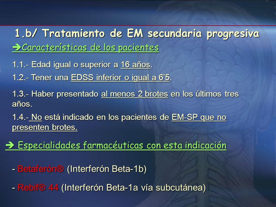 1.5.- Haber presentado al menos dos exacerbaciones durante los últimos 3 años previos al tratamiento. 1.6.- En determinadas circunstancias podrán util