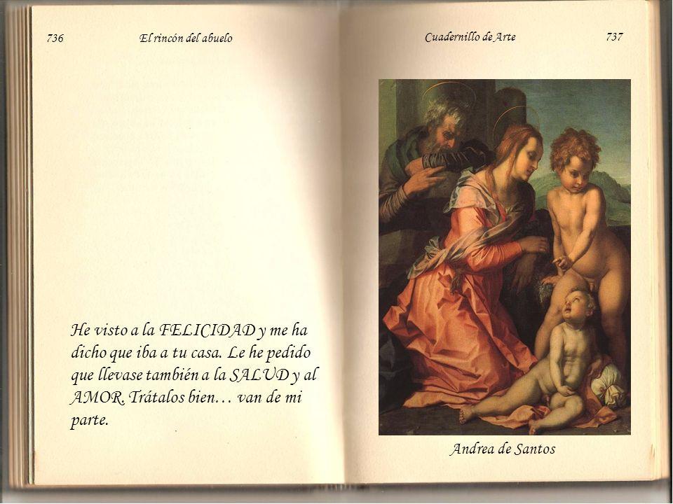 Tiziano Witz KonradSaraceni C 734 El rincón del abuelo Cuadernillo de Arte 735
