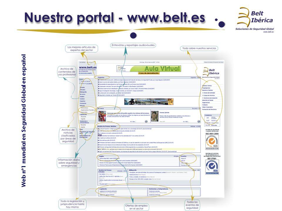 Web nº1 mundial en Seguridad Global en español