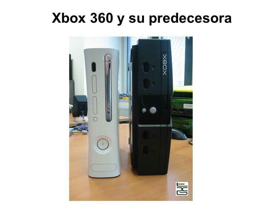 Xbox 360 y su predecesora