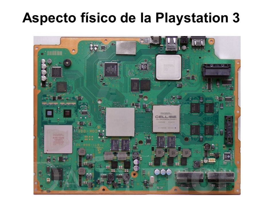 Aspecto físico de la Playstation 3