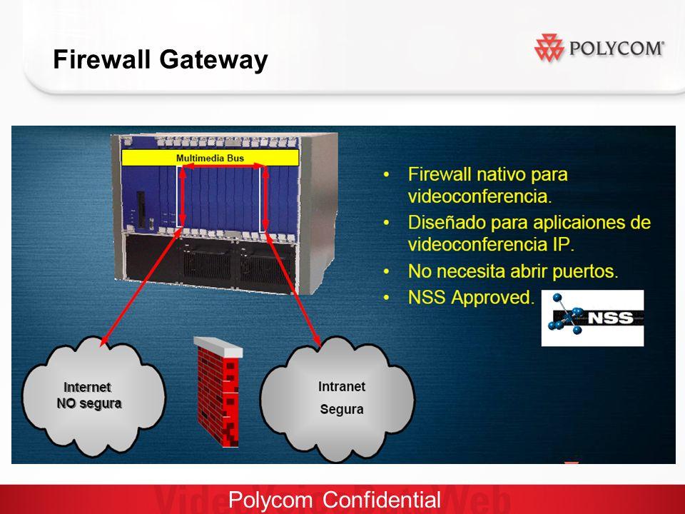 Polycom Confidential Firewall Gateway